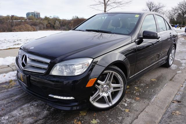2011 Mercedes-Benz C-Class C350 / LOADED / STUNNING BLACK ON BLACK BEAUTY !!