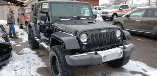 Used 2008 Jeep Wrangler Sahara for sale in Hamilton, ON