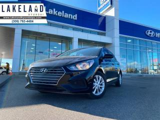Used 2019 Hyundai Accent GL  - $123 B/W for sale in Prince Albert, SK