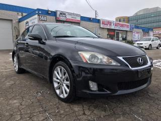 Used 2010 Lexus IS 250 Accidents free| Navi | Rear Cam for sale in Oakville, ON