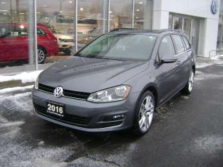 Used 2016 Volkswagen Golf Sportwagon HIGHLINE 1.8 TSI for sale in Cornwall, ON