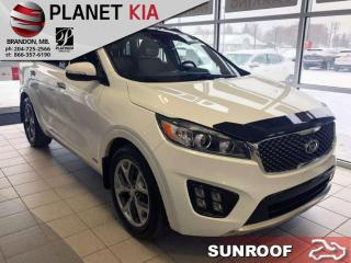 Used 2017 Kia Sorento SX Turbo - Sunroof - Navigation for sale in Brandon, MB