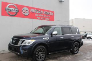 New 2020 Nissan Armada Platinum/4WD/LEATHER/SUNROOF for sale in Edmonton, AB
