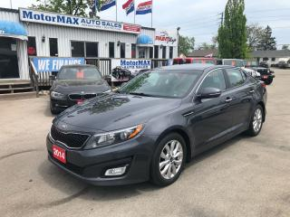 Used 2014 Kia Optima EX- ACCIDENT FREE- WE FINANCE for sale in Stoney Creek, ON