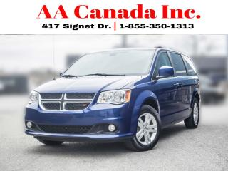 Used 2018 Dodge Grand Caravan Crew Plus |LEATHER|POWERDOORS|NAVI| for sale in Toronto, ON