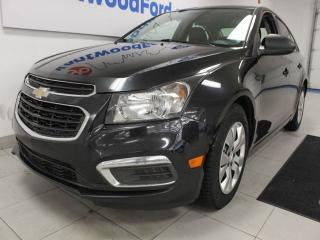 Used 2015 Chevrolet Cruze Cruze down the road in this comfortable and affordable sedan for sale in Edmonton, AB