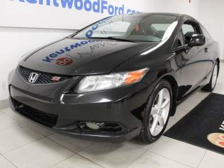Used 2012 Honda Civic Cpe Si i-vtec DOHC 6-SPD manual coupe with a sunroof for sale in Edmonton, AB