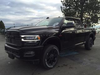 New 2019 RAM 3500 Laramie Black Edition for sale in Richmond, BC