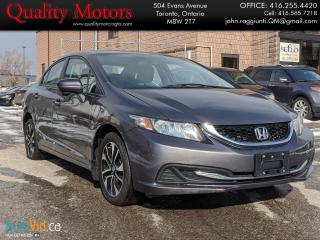 Used 2014 Honda Civic EX for sale in Etobicoke, ON
