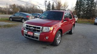 Used 2010 Ford Escape XLT LIMITED LEATHER SUNROOF AWD for sale in Stouffville, ON