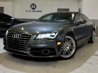 Used 2012 Audi A7 PRESTIGE|S-LINE|NAV|HUD|ACCIDENT FREE|BLIND SPOT for sale in Oakville, ON