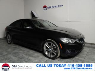 Used 2016 BMW 4 Series 428i xDrive GranCoupe Nav Sun HUD Cam Xe Certified for sale in Toronto, ON