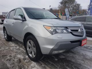 Used 2009 Acura MDX Elite Pkg-LEATHER-7 SEATS-NAVI-BK UP CAM-BLUETOOTH for sale in Scarborough, ON