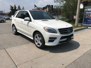 Used 2014 Mercedes-Benz ML 350 BLUETEC,DIESEL,57K,NO ACCIDENT,ONE OWNER,SAFETIED for sale in Toronto, ON