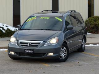 Used 2007 Honda Odyssey LEATHER,REAR-CAM,TOURING,NO-ACCIDENTS,NAVIGATION for sale in Mississauga, ON