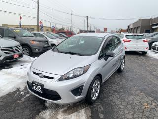 Used 2012 Ford Fiesta SES for sale in Hamilton, ON