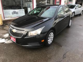 Used 2011 Chevrolet Cruze LS for sale in Hamilton, ON