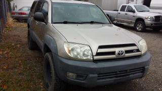 Used 2003 Toyota 4Runner SR5 4WD for sale in West Kelowna, BC