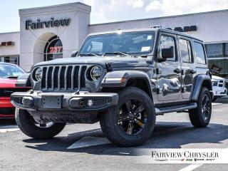 New 2020 Jeep Wrangler Unlimited Sahara Altitude for sale in Burlington, ON