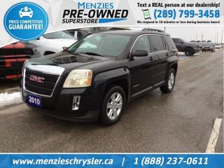Used 2010 GMC Terrain SLE-2, Hands-Free Comm, Sirius, Backup Cam for sale in Whitby, ON