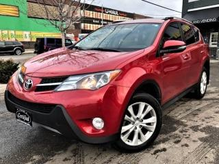 Used 2014 Toyota RAV4 LIMITED AWD-LEATHER-SUNROOF-BACKUP CAM-NAVI-70KMS for sale in Toronto, ON