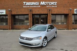 Used 2013 Volkswagen Passat NO ACCIDENTS I LEATHER I SUNROOF I HEATED SEATS I BT for sale in Mississauga, ON