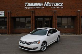 Used 2013 Volkswagen Passat HIGHLINE I NAVIGATION I REAR CAM I SUNROOF I HEATED SEATS for sale in Mississauga, ON