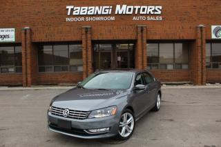 Used 2015 Volkswagen Passat HIGHLINE I NO ACCIDENTS I NAVIGATION I REAR CAM I SUNROOF I for sale in Mississauga, ON