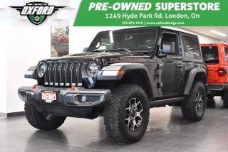 Used 2018 Jeep Wrangler Rubicon - Demo, Hard to Find, 2 Door for sale in London, ON