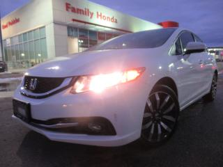 Used 2015 Honda Civic Sedan 4dr Auto Touring | LEATHER | ECO MODE | PUSH START for sale in Brampton, ON