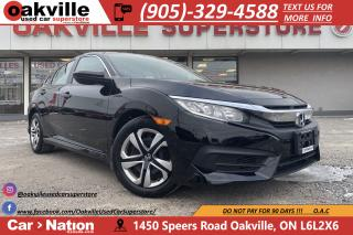 Used 2017 Honda Civic Sedan LX | B/U CAM | HTD SEATS | CRUISE | BLUETOOTH for sale in Oakville, ON