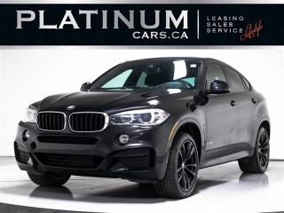 Used 2017 BMW X6 xDrive35i, M-SPORT, NAVI, Heads UP, Exec for sale in Toronto, ON