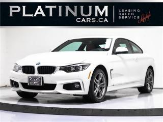 Used 2018 BMW 4 Series 430i xDrive COUPE, M-SPORT, NAVI, RED LTHR for sale in Toronto, ON