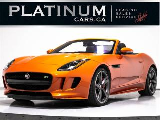 Used 2017 Jaguar F-Type R 550HP, CONVERTIBLE, NAVI, CAM for sale in Toronto, ON