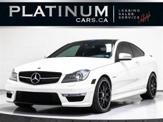 Used 2012 Mercedes-Benz C-Class C63 AMG, NAVI, PANO, CAM, BLINDSPOT for sale in Toronto, ON