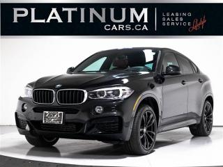 Used 2018 BMW X6 xDrive35i, M-SPORT, NAVI, Heads UP, RED Lthr for sale in Toronto, ON