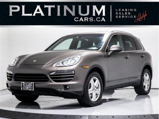 Used 2012 Porsche Cayenne NAVI, CAM, PANO, Heated Cooled Seats for sale in Toronto, ON