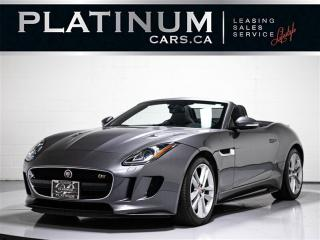 Used 2016 Jaguar F-Type S, 340HP AWD, NAVI, Heated Lthr for sale in Toronto, ON