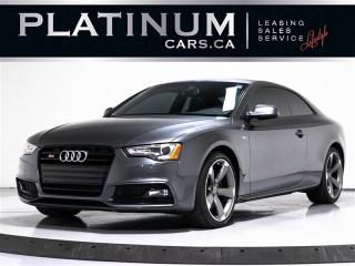 Used 2017 Audi S5 3.0T Quattro PROGRESSIV, NAVI, Sunroof for sale in Toronto, ON