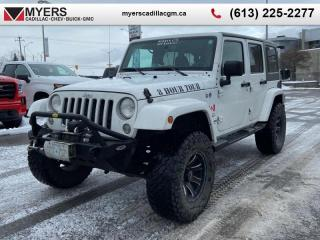 Used 2016 Jeep Wrangler Unlimited Sahara  SAHARA, 4 DR, LIFTED, 35