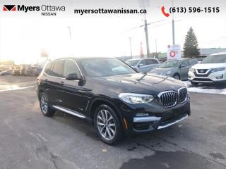 Used 2018 BMW X3 xDrive30i   - Leather Seats -  Heated Seats - $248 B/W for sale in Ottawa, ON