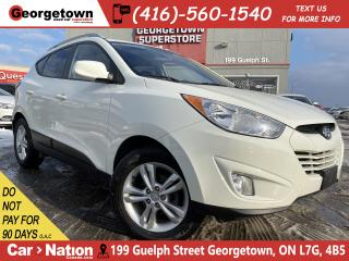 Used 2010 Hyundai Tucson GLS | ALLOYS | FOGS | BLUE TOOTH | CLEAN CARFAX for sale in Georgetown, ON