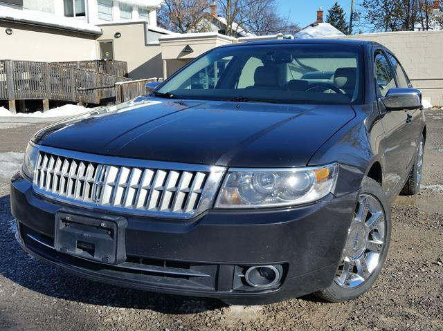 2007 Lincoln MKZ AWD Sunroof, Heated Leather, Chrome Wheels!!!