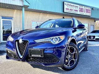 Used 2018 Alfa Romeo Stelvio ti STELVIO SPORT!! FULLY LOADED!! CERTIFIED!! for sale in Bolton, ON