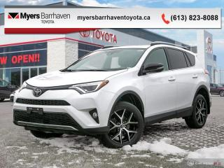 Used 2017 Toyota RAV4 AWD SE  - Navigation -  Sunroof - $192 B/W for sale in Ottawa, ON