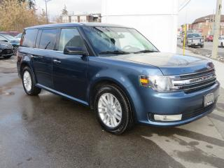 Used 2019 Ford Flex SEL AWD-7 Passenger/Leather/Heated Front Seats/Vista Roof/Remote Start/Reverse Camera/Nav/Bluetooth for sale in Hagersville, ON