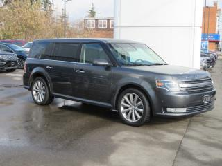 Used 2018 Ford Flex Limited EcoBoost AWD-7 Passenger/Leather/Heated-Cooled Front Seats/Heated Steering Wheel/Remote Start/Vista Roof/Reverse Camera/Nav/Bluetooth for sale in Hagersville, ON