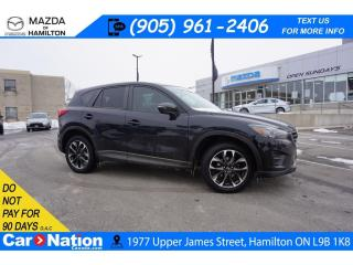 Used 2016 Mazda CX-5 GT | LEATHER | SUNROOF | NAV | REAR CAM | AWD for sale in Hamilton, ON