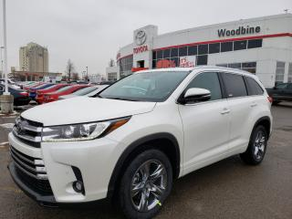 New 2019 Toyota Highlander LIMITED  for sale in Etobicoke, ON