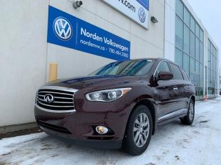 Used 2015 Infiniti QX60 NAVI - LEATHER / SUNROOF - LOADED for sale in Edmonton, AB